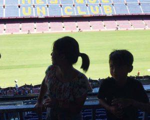 バルセロナ カンプノウスタジアム